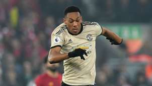 Anthony Martial Liverpool Man Utd 19012020