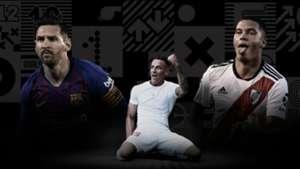 Premio Puskas Messi, Quintero y Zsori 2019