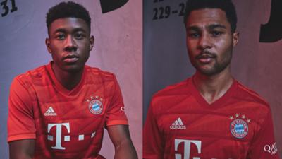 Bayern Munich 2019-20 home kit