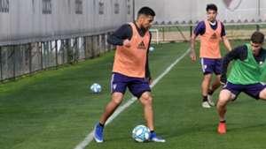 Paulo Diaz entrenamiento River Plate 2019