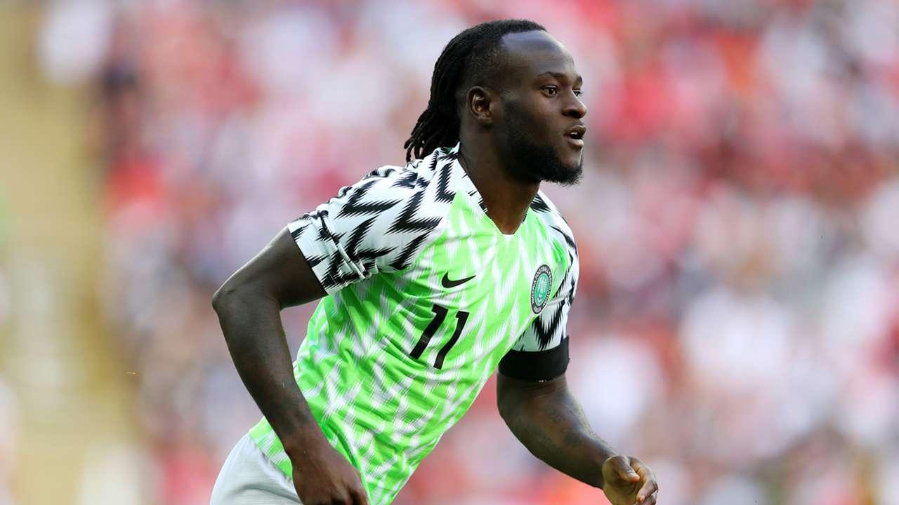 Victor Moses Nigeria 2018