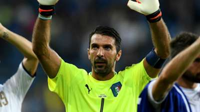 Most capped Europeans Gianluigi Buffon