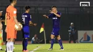 B.Bình Dương SHB Đà Nẵng Bán kết lượt về Cúp Quốc gia 2017