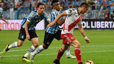 Cortez Rafael Santos Borre Gremio River Copa Libertadores 30102018
