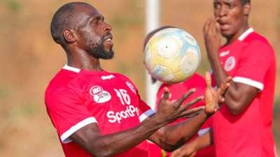Joash Onyango of Kenya vs Simba SC.