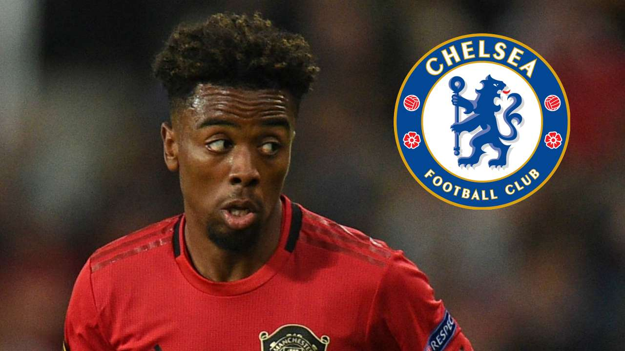 Angel Gomes Chelsea Manchester United