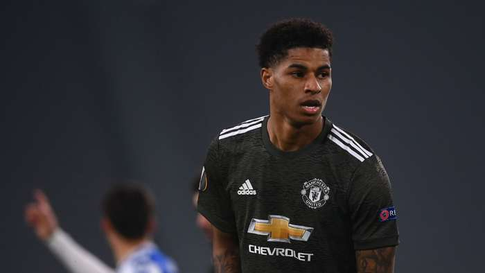 Rashford Manchester United 2021