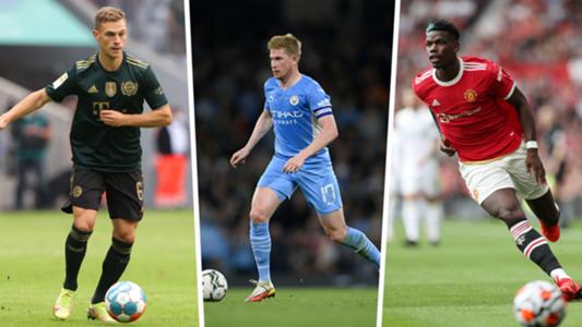 FIFA 22 Ratings: Die besten Mittelfeldspieler (ZDM, RM, ZM, LM, ZOM) im Spiel | Goal.com