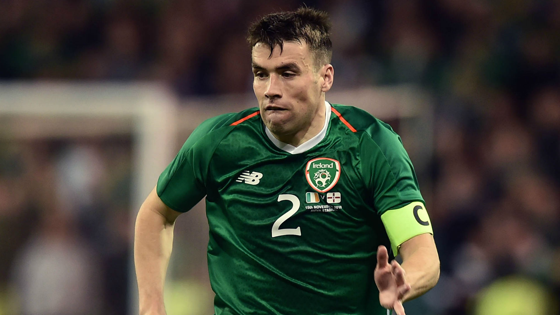 Seamus Coleman Republic of Ireland 2018