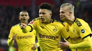 Jadon Sancho Erling Haaland Borussia Dortmund