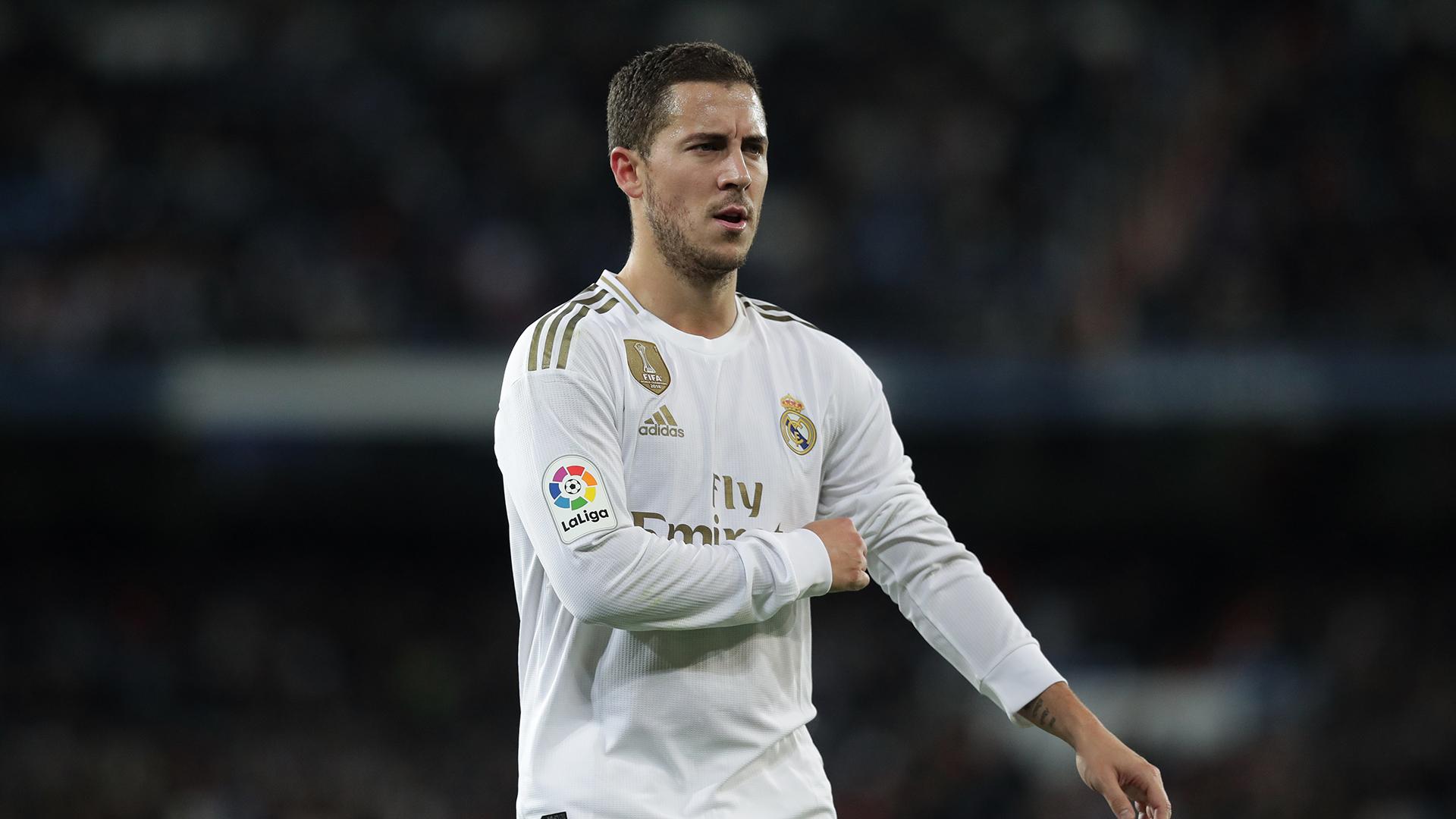 Eden Hazard a repris l'entraînement avec le Real Madrid