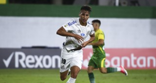 Kaio Jorge Defensa y Justicia Santos Libertadores 2020