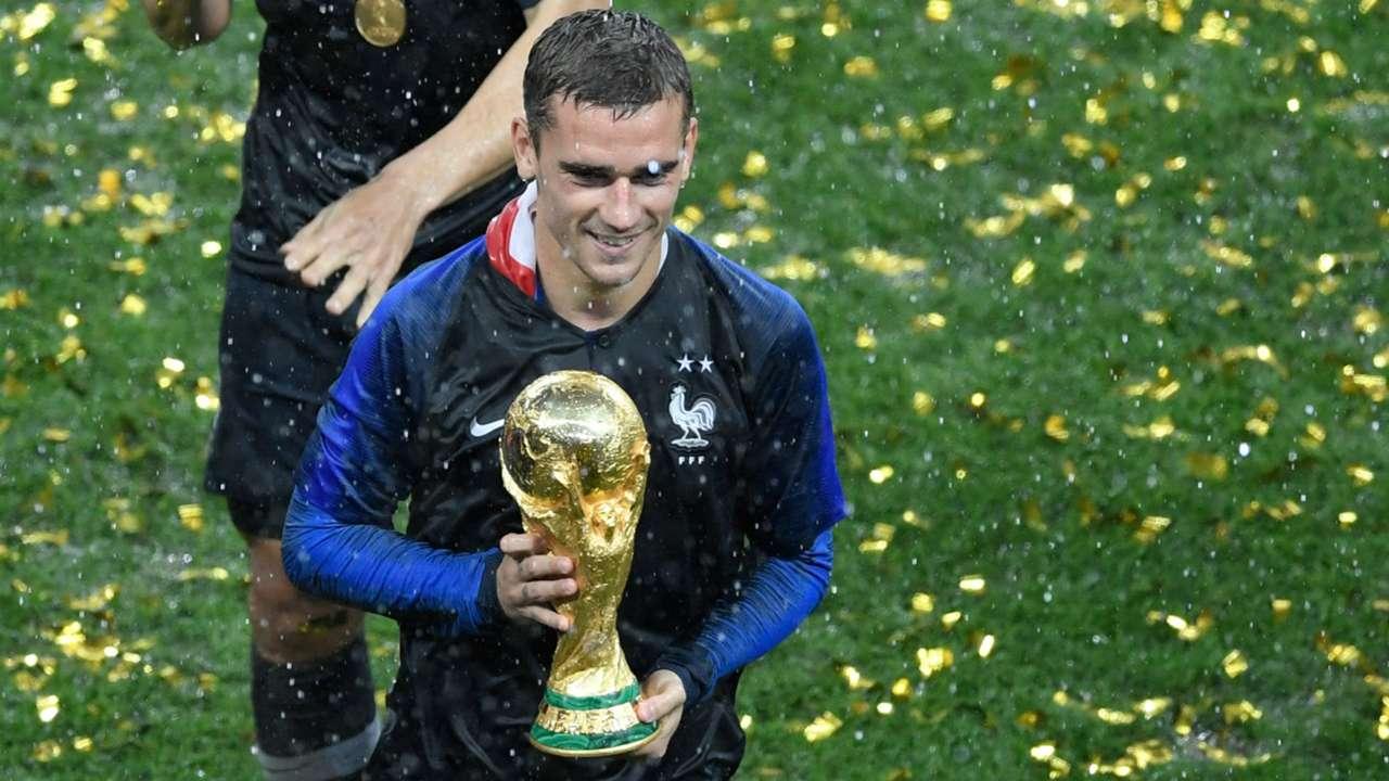 Antoine Griezmann France Croatia World Cup 2018