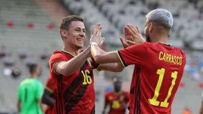 20210603_Belgium Yannick Carrasco&Thorgan Hazard