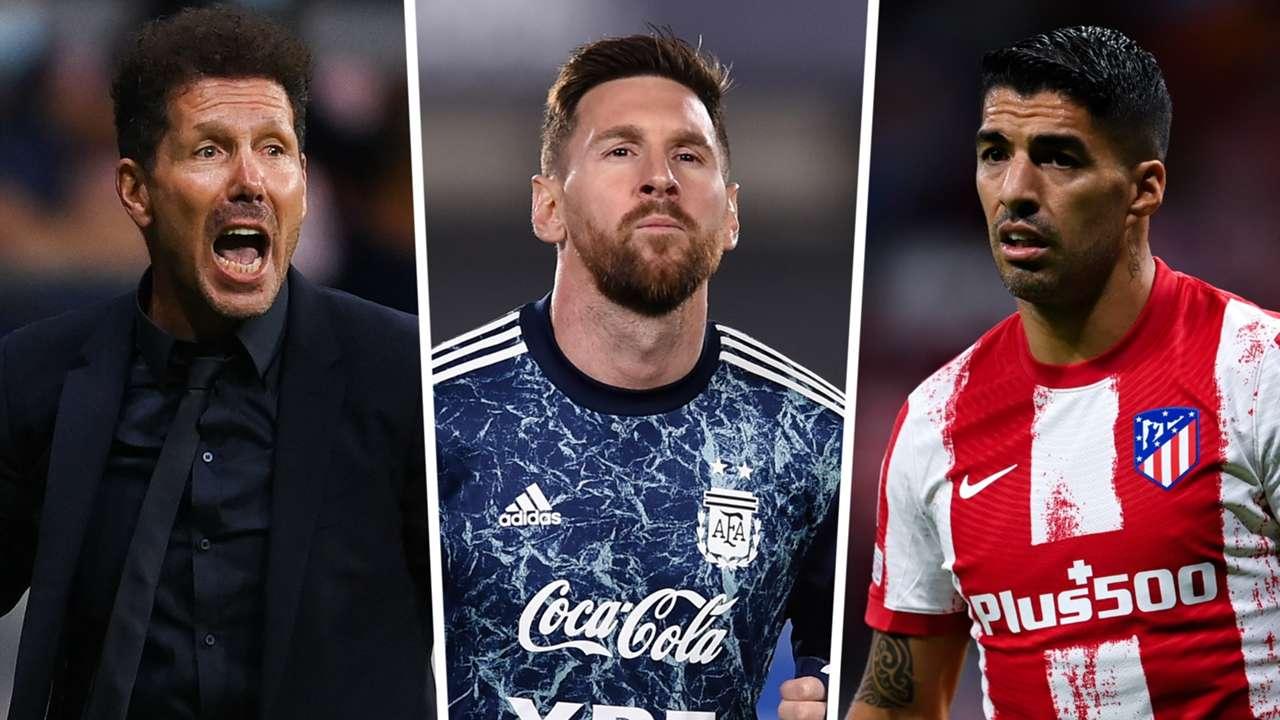 Diego Simeone, Lionel Messi, Luis Suarez
