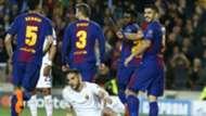 Manolas own goal Barcelona Roma 04042018 Champions League QF