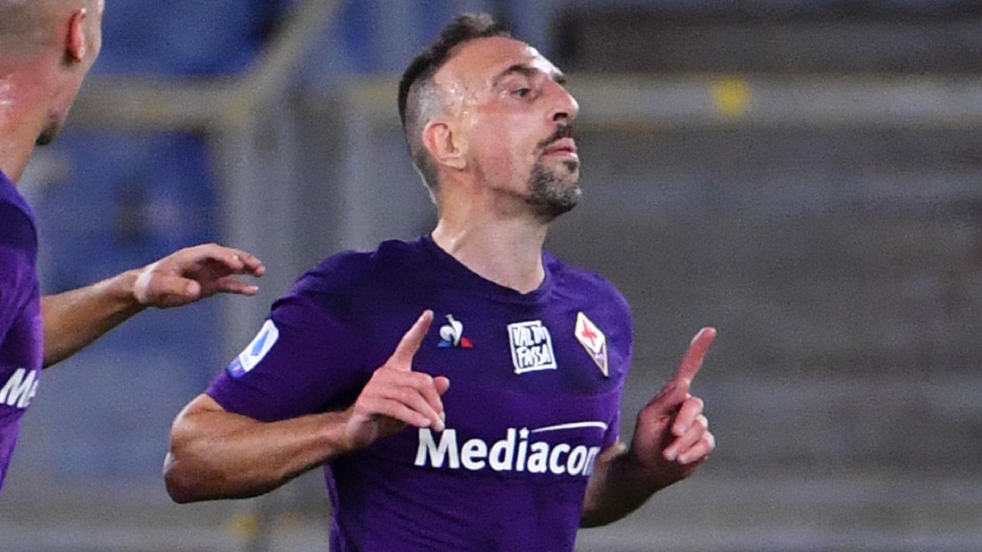 Mercato - Franck Ribéry met fin au suspense : il restera à la Fiorentina la saison prochaine