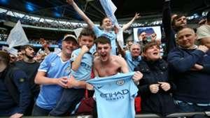 Manchester City fans 2019