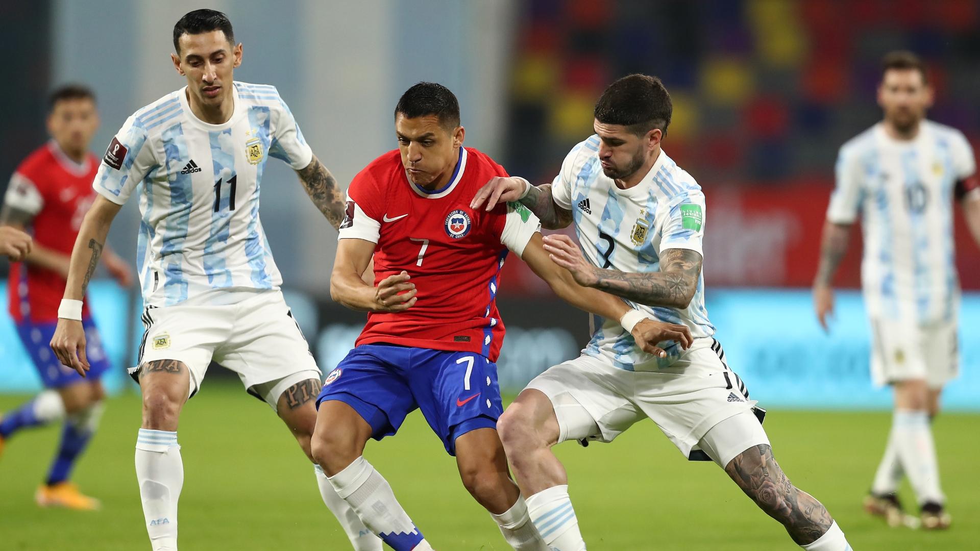 Goles De Argentina 1 1 Chile Por Las Eliminatorias Resumen Videos Polémicas Y Estadísticas Goal Com