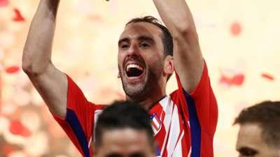 Diego Godin Atletico Madrid 2017-18
