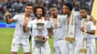 Militão Marcelo Vinicius Junior Rodrygo Casemiro Real Madrid Supercopa ESP 12 01 2020