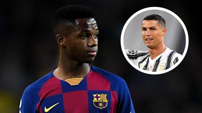 Ansu Fati/Cristiano Ronaldo 2019-20