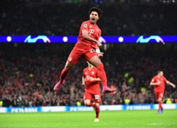 Serge Gnabry Tottenham Bayern Munchen UEFA Champions League 10/01/19