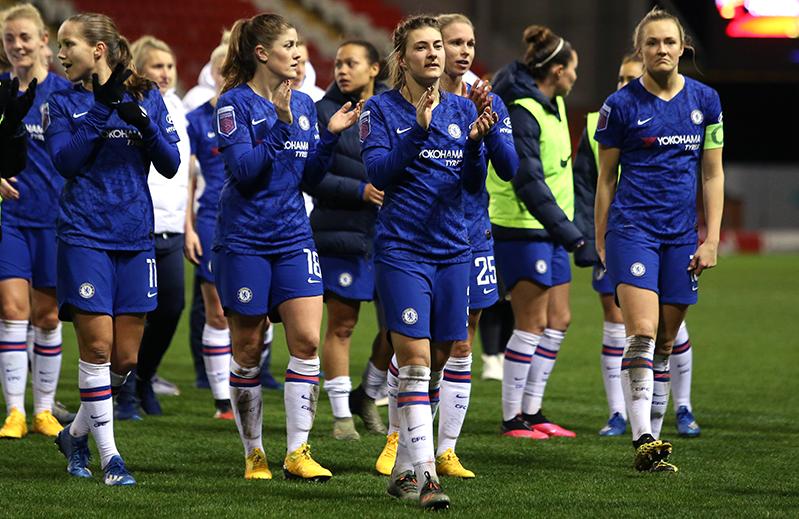 Chelsea donate WSL winnings to charity