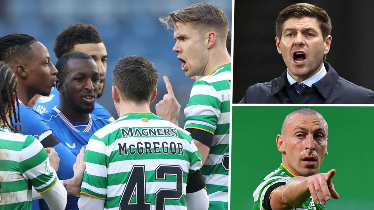Celtic Rangers 2020-21