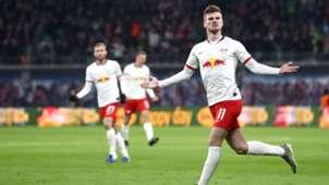 Timo Werner RB Leipzig Bundesliga 18012020