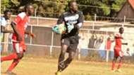 Keeper Timothy Odhiambo of Ulinzi Stars.