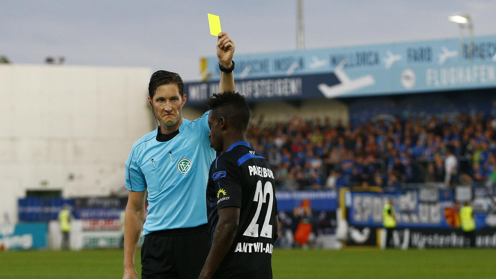 Ghana midfielder Antwi-Adjei receives first career red card in Paderborn draw