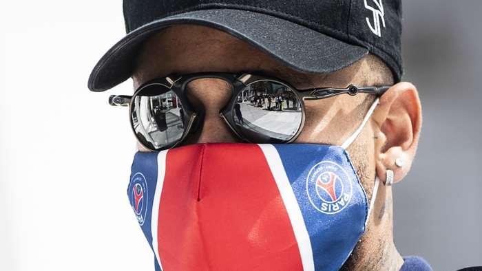 Neymar, coronavirus mask, PSG