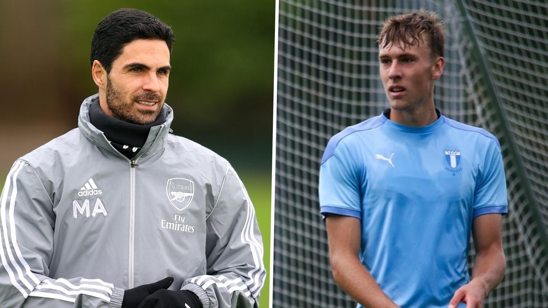 Arsenal sign Moller as Swedish striker nicknamed 'Ibra' seals switch to Emirates Stadium