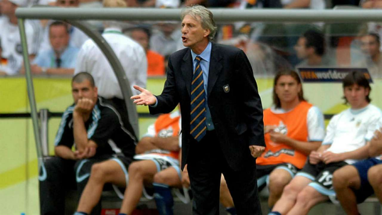 Jose Pekerman Lionel Messi Argentina Germany World Cup 2006