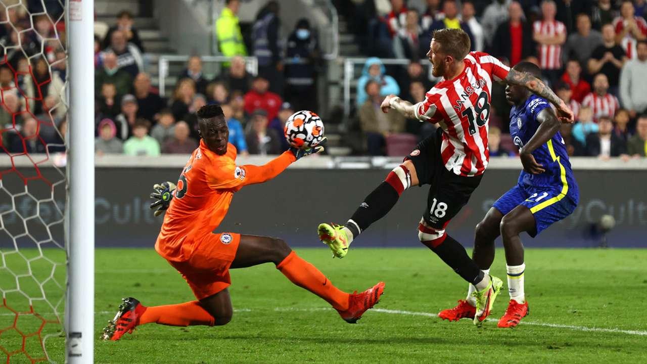 Edouard Mendy Chelsea Brentford Premier League 2021-22