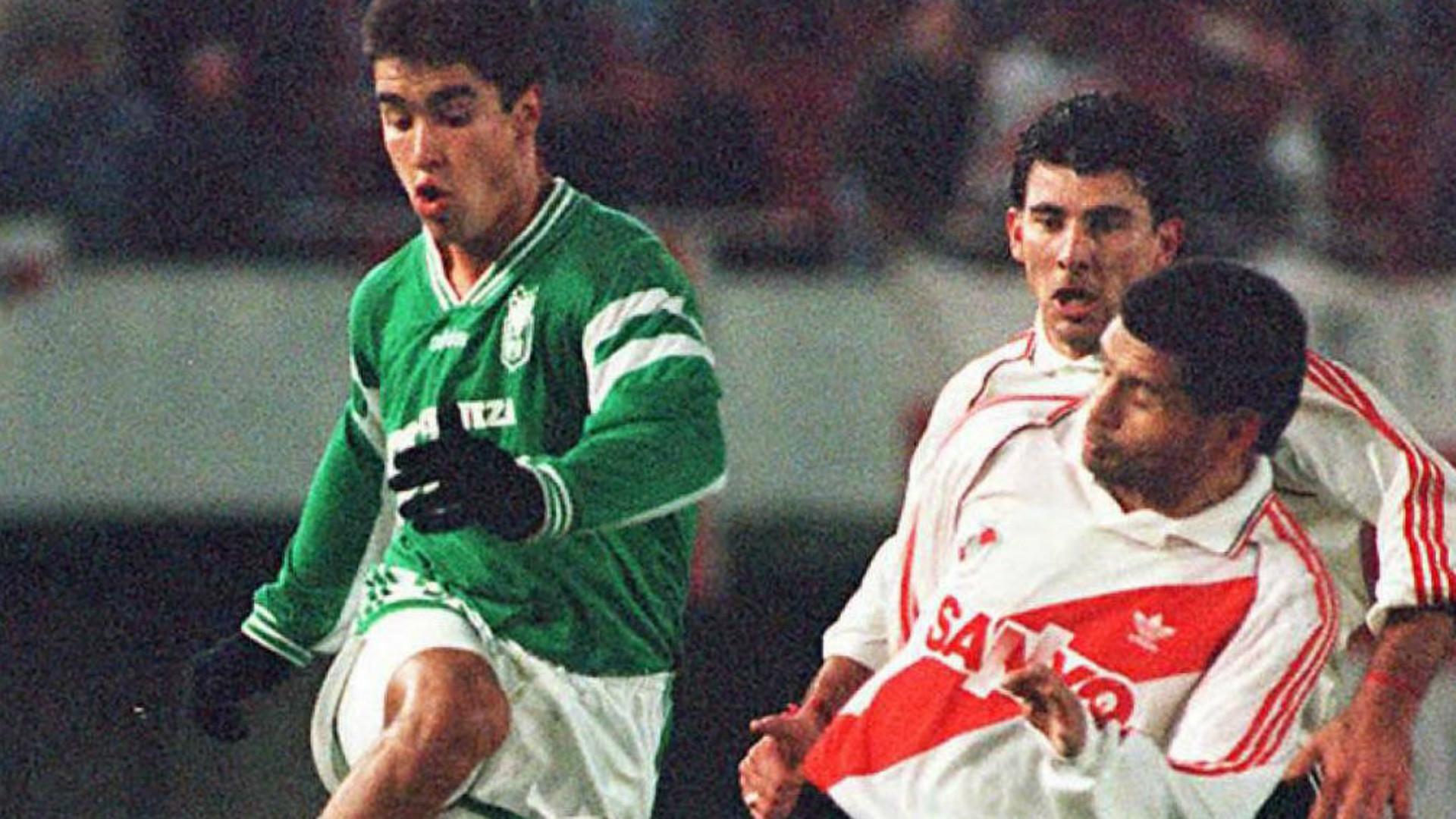 River Atlético Nacional Copa Libertadores 1995