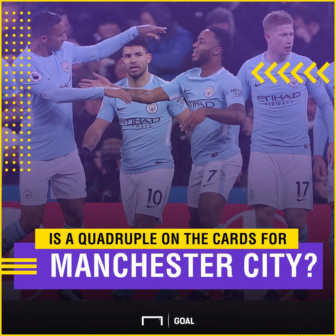 Manchester City quadruple