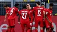 Joshua Kimmich, Bayern Munich celebrates goal vs Dortmund, 2019-20