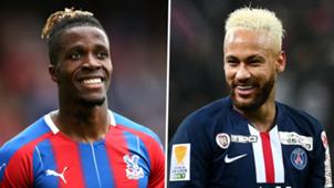 Wilfried Zaha Neymar Crystal Palace PSG 2019-20