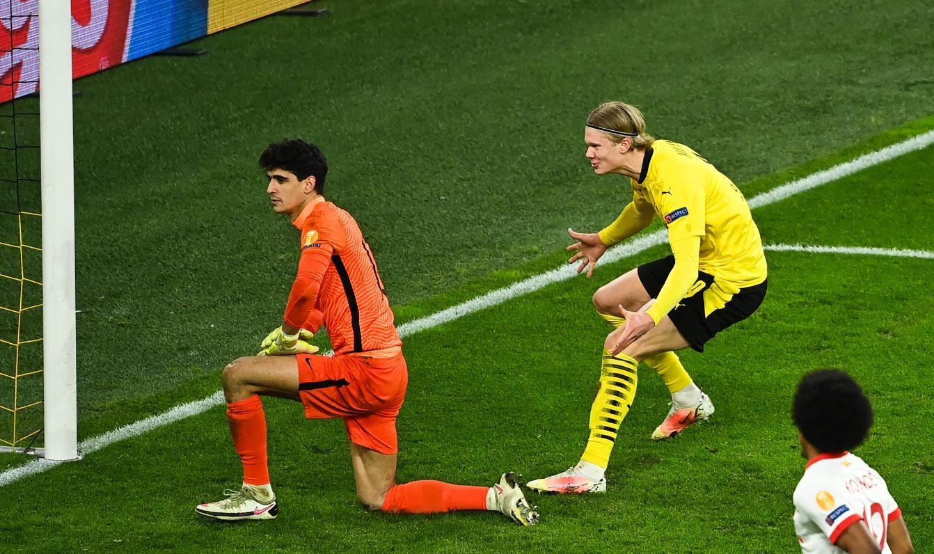 هالاند يكشف عن سر صراخه في وجه ياسين بونو | Goal.com