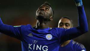Iheanacho's goal was reward for his progress in training at Leicester City - Davies