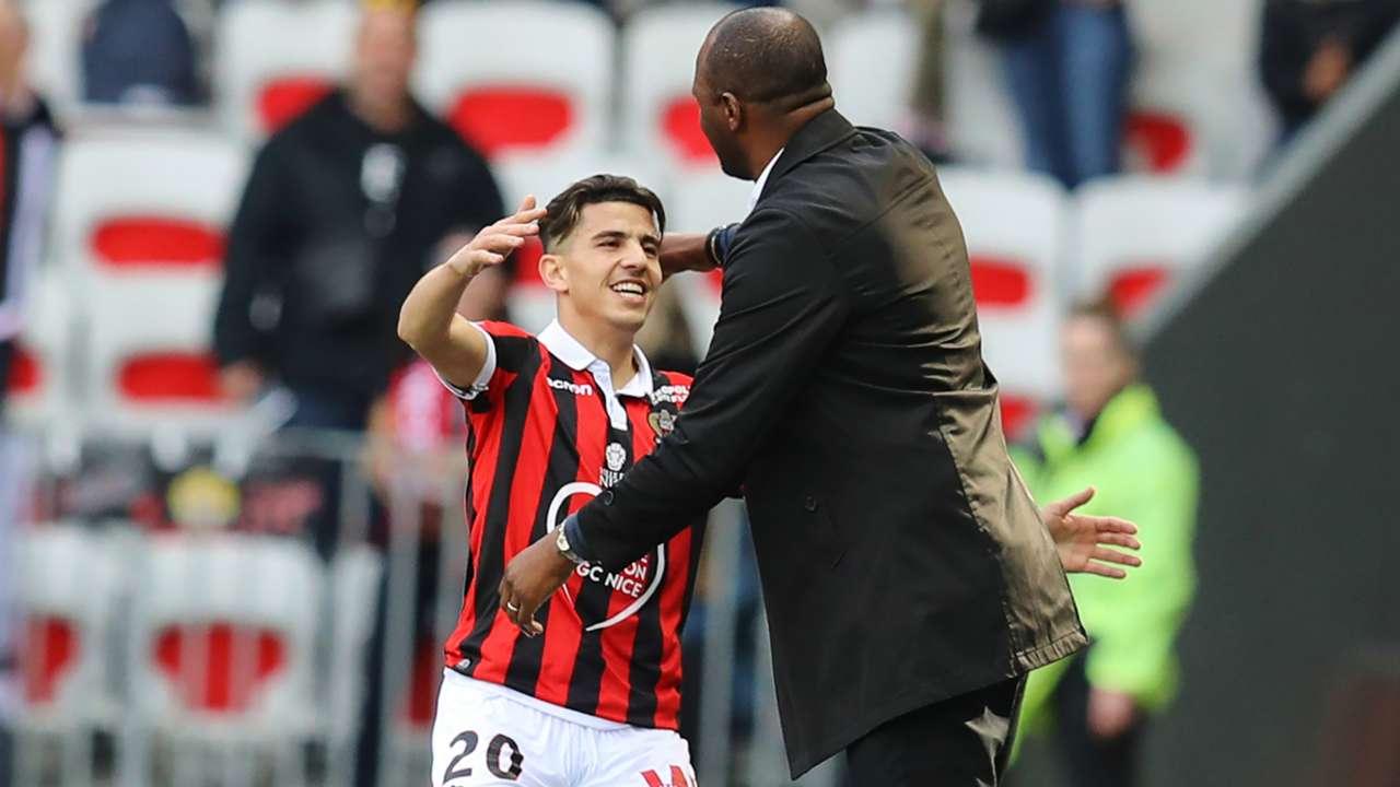 Youcef Atal Patrick Vieira Nice 2018-19