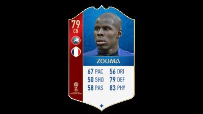 FIFA 18 World Cup France Zouma