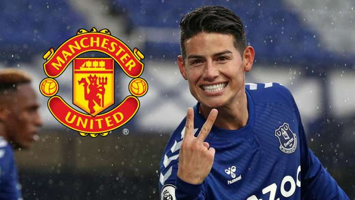 James Rodriguez Manchester United GFX