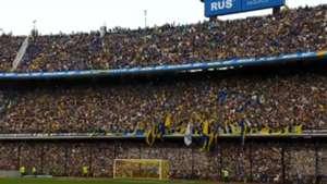 CAPTURA Boca hinchas hinchada fans La Bombonera