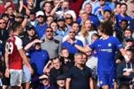 David Luiz Red Card