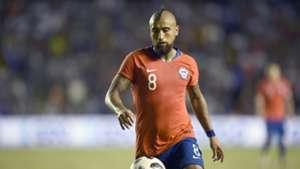 Vidal inaugura el marcador ante Honduras y se lo dedica a Rueda