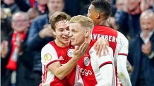 Donny van de Beek, Ajax - PSV, 02022020 *GOAL NETHERLANDS ONLY*