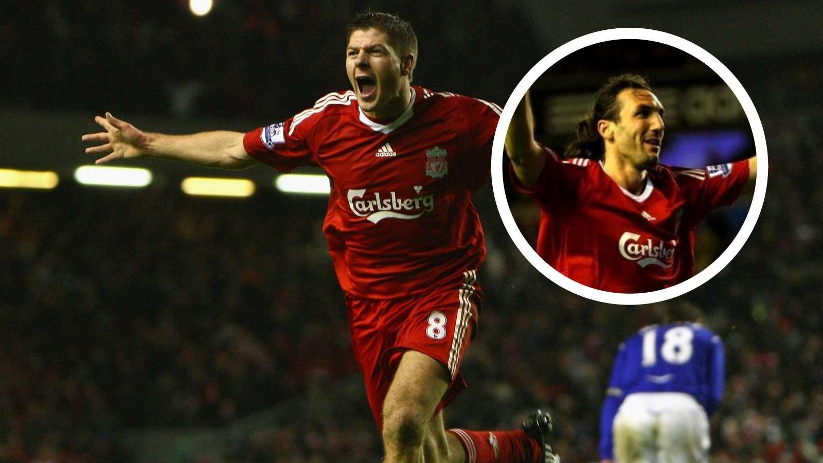Sotirios Kyrgiakos Steven Gerrard Liverpool GFX